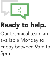 Transdrive technical team are ready to help you
