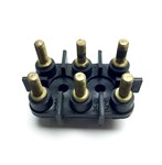 LS71 T. BLOCK 3PH 6PIN image-1