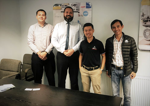 Image of Q Industries Visit Transdrive