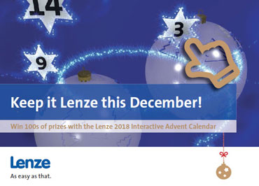 Image of Lenze Xmas Advent Calendar 2018 is back.
